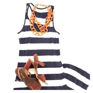 Forever 21 Stripe Maxi Dress